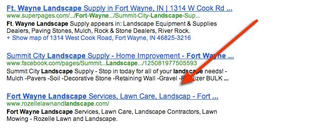 Fort Wayne Landscape Google Results - Rozelle Lawn and Landscape