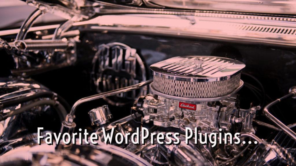 Favorite Wordpress Plugins