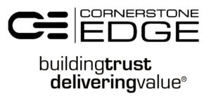 Cornerstone Edge Logo and Tagline